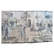 Antique Egyptian tapestry, wall hanging