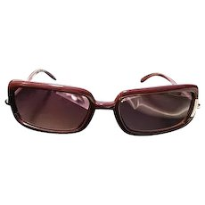 Vintage sunglasses, designer, Givenchy, with case