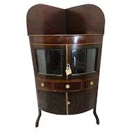 Rare George III mahogany washstand