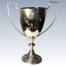 Mappin and Webb, Sterling silver trophy, no inscription