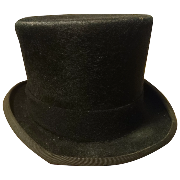 ce7fa2706e4 Antique top hat