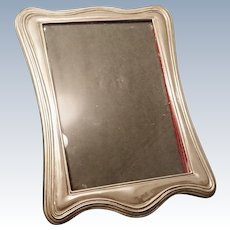 Antique silver plated photograph frame, shabby chic