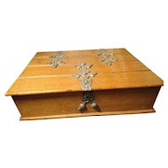 Antique German cigar box, L Schaller