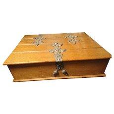 Antique German cigar box, L Schaller
