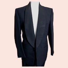 Vintage 1950's mens dinner suit, tuxedo