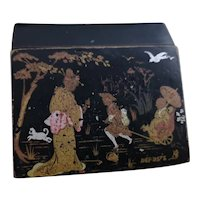 Antique French chinoiserie box