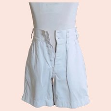 Vintage gents 1930's tennis shorts