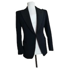 Vintage mens 1940s tuxedo jacket