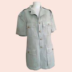 Vintage mens 1940s military jacket