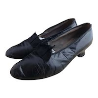 Antique 1910's ladies leather shoes