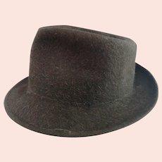 Vintage gents 50's fedora hat, Austin Reed