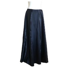 Vintage 1930's satin panel evening skirt