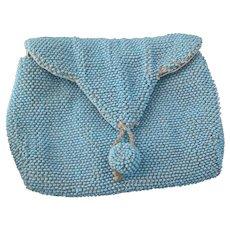Vintage Art Deco beadwork clutch purse