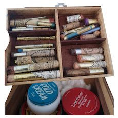 Vintage theatrical, Stage makeup kit