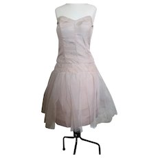 Vintage 1950s tulle party dress