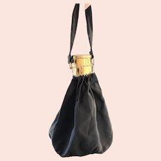 Vintage Art Deco Accordion purse, handbag