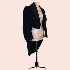 Vintage 1930's men's tailcoat, Harrods