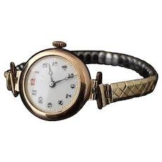 Art Deco 9k ladies wristwatch, 1920's