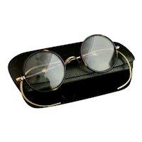 Vintage Art Deco spectacles, faux tortoiseshell