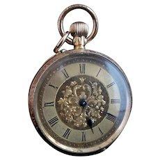 Antique 18k gold ladies pocket watch