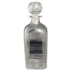 Antique Victorian glass decanter