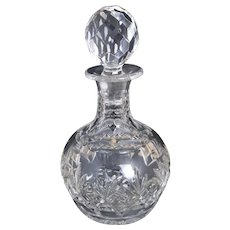 Vintage cut glass decanter, 30's