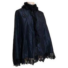 Antique Victorian mourning cape