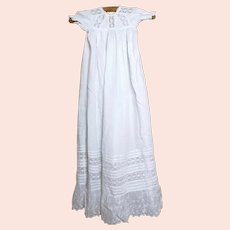 Antique English christening gown
