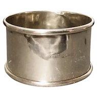 Vintage 20's sterling silver napkin ring