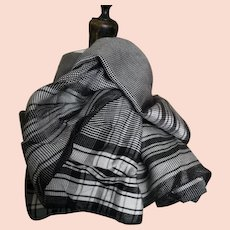 Vintage gents silk scarf, 1920's