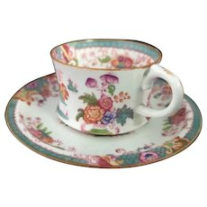 Antique Cauldon demitasse cup and saucer