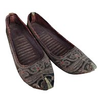 Antique 19th century Persian slippers