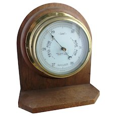 Vintage 30's Sestrel ships barometer