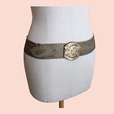 Antique French Art Nouveau ladies belt