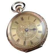 Antique 14ct gold pocket watch