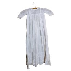 Antique Victorian christening gown, baby dress