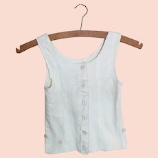 Vintage childs 1930's vest top