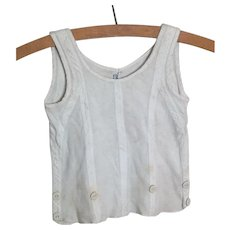 Vintage 20s child's Liberty slip on vest