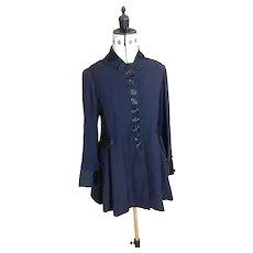 Antique Edwardian ladies frock coat