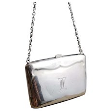 Antique sterling silver purse