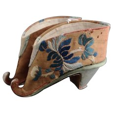 Antique Chinese Lotus Shoes