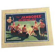 Vintage jamboree printing set