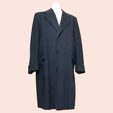 Vintage 40s gents wool overcoat