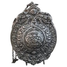 Antique Russian powder flask