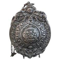 Antique Russian powder flask