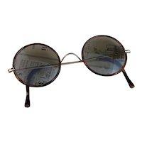 Vintage 1920's round framed sunglasses