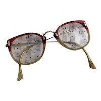 Vintage 1940s ladies eyeglasses
