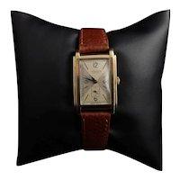 Vintage Gents 9ct gold wristwatch, JW Benson, 1940's