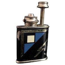 Art Deco novelty scent bottle, lighter shape
