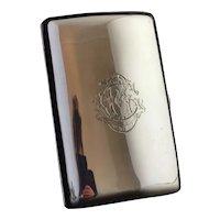 Antique silver cigar case, Sampson and Mordan